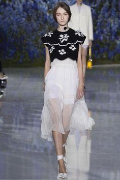 Christian Dior Paris Fashion Week Ready To Wear SS'16