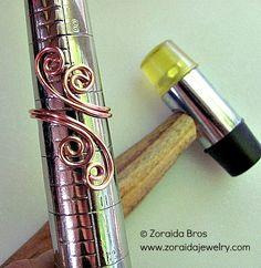 Easy Adjustable Spiral Ring Tutorial