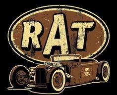 Rat Rod Pinups | Rat Rod | ...hot rods and pinup girls...                                                                                                                                                      More