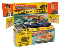 Lot 280 - Corgi Toys The Man From Uncle Oldsmobile Super 88 'Thrush Buster' My brother had this car Retro Toys, Vintage Toys, 1960s Toys, Antique Toys, Childhood Toys, Childhood Memories, Gi Joe, Corgi Toys, The Man From Uncle