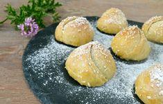 Αλμυρά ή γλυκά πιτάκια σαν μπουμπουκάκια! Hamburger, Asian, Bread, Snacks, Recipes, Food, Appetizers, Brot, Essen