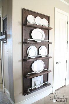 Industrial Plate Rack
