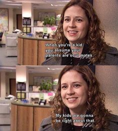 office Quotes Pam - The 17 Most Romantic Moments On The Office . Office Quotes, Office Memes, Quotes From The Office, Office Tv, Pam The Office, Office Humour, Romantic Moments, Most Romantic, Hopeless Romantic
