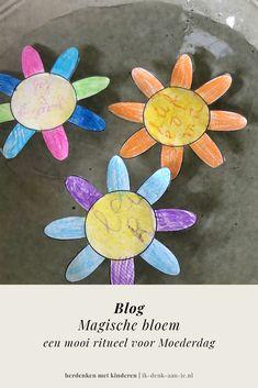Voor moeders die fysiek aanwezig zijn en moeders in warme herinnering. Als geschenk aan oma of samen te doen in de klas. Deze magische bloem zorgt voor verwondering en hiermee kun je op een mooie manier stilstaan bij de lieve, bijzondere en speciale eigenschappen van een mama. Lees ons blog met verdiepende uitleg over dit ritueel! #moederdag #ikdenkaanje #mama #ikmisje #rouw Seeds
