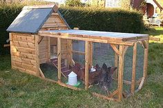 Dog House Chicken Coop Plans  Would also make an awesome rabbit hutch. ......this is the one!