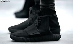 ec646bbb8 Four Pins  Twitter account tweeted out a picture of a pair of all black  Yeezy