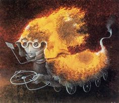 As del volante. Remedios Varo