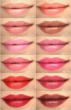 Buxom Shimmer Shock Lip Stick: Supercharged or Pyre Lipstick Swatches, Lipstick Colors, Lip Colors, Makeup Swatches, Lipstick Shades, Mary Kay Party, Mary Kay Lipstick, Mary Kay Makeup, Hair Removal