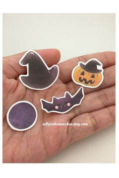 Halloween Stickers/ Hand-drawn And Handcut Stickers/ Planner Stickers by softpinksmooches on Etsy https://www.etsy.com/listing/470376022/halloween-stickers-hand-drawn-and