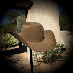 Cowboy hat Whiskey color 100x Hand made Western Outfits 403c0532b367