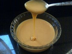 Homemade Sweetened Condensed Milk substitute.