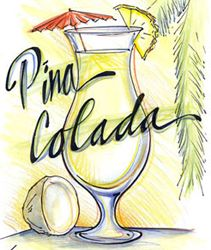 Low Carb Non-alcoholic Pina Colada Ingredients: Pina Colada Smoothie Recipe, Smoothie Recipes, Cocktail Gifts, Low Carb Drinks, Beach Drinks, Pineapple Coconut, Ginger Ale, Lemon Lime, Non Alcoholic