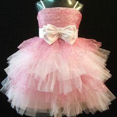 Pink Sequin Spaghetti Formal Toddler Little Girls Pageant Dress SKU-10501072