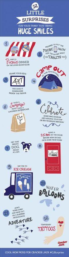 12 little surprises for your family | Cool Mom Picks