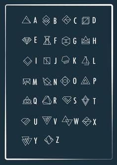 A geometric alphabet – PXL MAD) Source by kerrielegend Alphabet Code, Alphabet Symbols, Font Alphabet, Calligraphy Fonts, Typography Fonts, Hand Lettering, Lettering Styles, Lettering Tutorial, Script Fonts