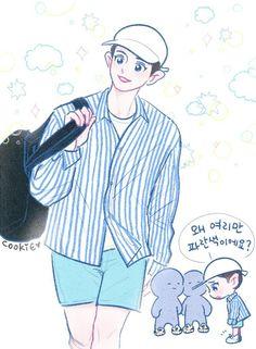 [170610] #fanart #Chanyeol #EXO