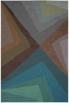 Doug and Gene Meyer rugs - Volcano Island