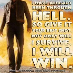 Quotes - I will Win!