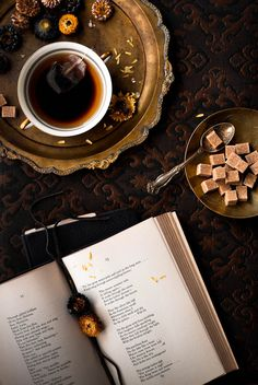 "Tea Poetry by Rikki Snyder Photography Earl Grey and #13 of Edith Sitwell's Fifteen Excerpts from ""The Sleeping Beauty"""