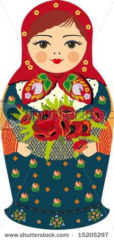 Dont know why but I love russian dolls. So much I have a tattoo one one on my ribs. And lots of different doll related paraphernalia...