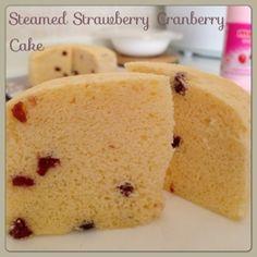 My Mind Patch: Rice Cooker Steamed Strawberry Cake 电饭锅草莓蒸蛋糕