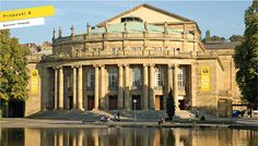 The proposal of art director Marco Piacquadio for the new image of state theater Stuttgart