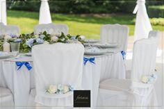 FERIATUS - Baby Boy - White - Blue - Table - Flowers - Tent