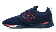 247 Classic, Navy with Red