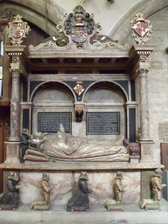 Tomb of Earl of Rutland, St Mary& (C) J.Hannan-Briggs :: Geograph Britain and Ireland Kneeling In Prayer, Famous Historical Figures, Effigy, Memento Mori, Great Britain, Medieval, Saints, Mary, Ireland