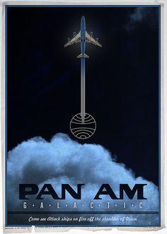 Pan Am Galactic Poster