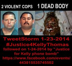 To our brother #KellyThomas your death will not be in vain and your murder not hidden #Justice4KellyThomas