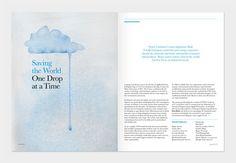 Interfaces Magazine - Alumni & Industry Magazine by Mark Neil Balson via Behance #Behance #MarkNeilBalson #InterfacesMagazine