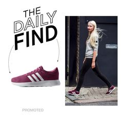 The Daily Find: Adidas NEO Lite Racer, created by polyvore-editorial on Polyvore