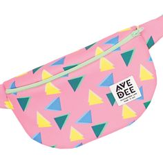Avenue Dee Fanny Pack   Pink Swatchy