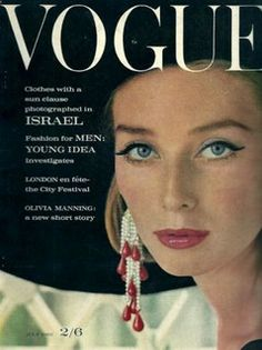 Tania Mallett  -  Vogue July 1962