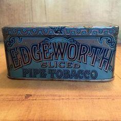 Edgeworth Ready Sliced Tobacco Blue Tin