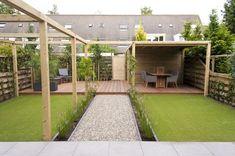 Garden Design Layout - New ideas Garden Yard Ideas, Backyard Patio Designs, Back Gardens, Outdoor Gardens, Gravel Landscaping, Back Garden Design, Contemporary Garden, Dream Garden, Landscape Design