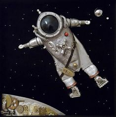 Spaceman, by Arturas, a Lithuanian artist