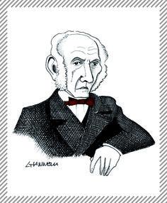 Alessandro Manzoni, 1785 - 1873. Scrittore, poeta e drammaturgo #albumMilano #Manzoni