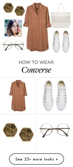 """ME"" by ellelovesfashion07 on Polyvore featuring United by Blue, Converse, ZeroUV and Panacea"