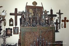 Piesafe home altar, Laurie Beth Zuckerman, ICONARTE