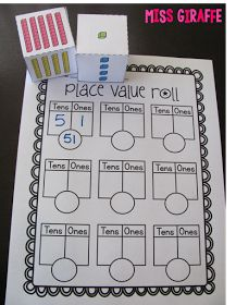 Miss Giraffe's Class: Place Value, Moving, and New Blog Design - Oh My!