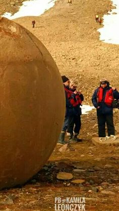 The Mysterious Giant Stone Spheres of Franz Josef Land: Ancient round stone spheresranging in size from that of a coin to as large as 3 meters high dot the landscape creating a scenelike something out ofa science fiction movie! It's a sight that baffles the eyes & the mind. Could these stone spheres have been produced by an ancient civilization? If so, why? #Arctic #Russia