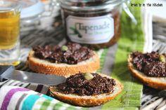 Tapenade aux olives noires sans anchois