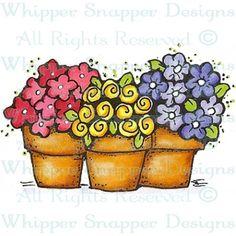 Flowerpot Trio