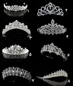 I wish I had a reason to wear these! Royal Jewelry, Cute Jewelry, Hair Jewelry, Royal Tiaras, Tiaras And Crowns, Bridal Crown, Bridal Tiara, Pretty Quinceanera Dresses, Diamond Tiara