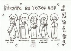 como celebrar el dia de todos los santos con los niños - Buscar con Google