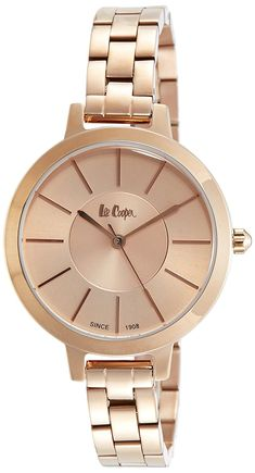 Buy Lee Cooper Analog Rose Gold Dial Women's Watch-LC06175410 Online at Low Prices in India - Amazon.in