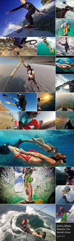 Action pictures made by GoPro Action Pictures, Sports Pictures, Cool Pictures, Gopro Photography, Photography Ideas, Gopro Video, Life Gets Better, Creative Shot, Gopro Camera