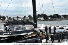 Spindrift 2 retrouve la Trinité sur Mer ... #RDR14 #Record  | www.scanvoile.com